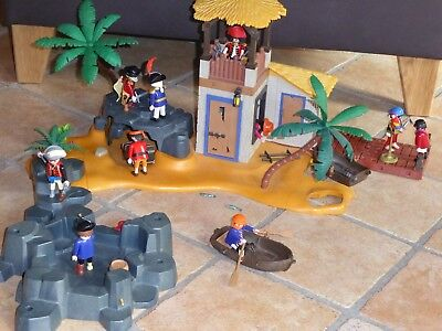 Playmobil Piraten Pirateninsel Piratenlagune Höhle 3938