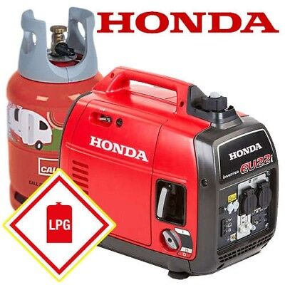 LPG Conversion Honda EU22i 2200w with Inverter Technology