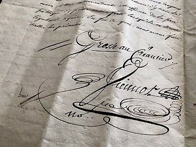 1823 Signed and Handwritten Document 14 PAGES