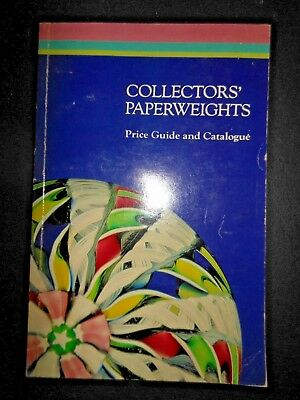 Collector's Paperweights Price Guide and Catalogue 1981 Selman Clichy Baccarat