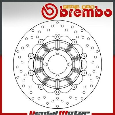 Brembo Serie Oro Floating Front Brake Disc for Bmw R 80 Gs 1987