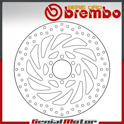 Brembo Serie Oro Fixed Front Brake Disc for Ktm Rc Abs 2014 > 2016