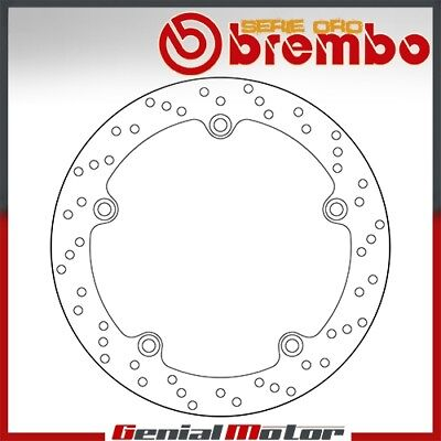 Brembo Serie Oro Fixed Rear Brake Disc for Bmw R 1150 Rs 2001 > 2005