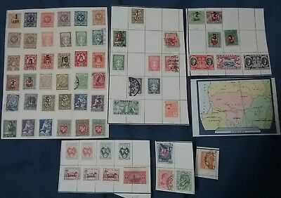 Kerryyw Latvia/Lithuania used,mh on pages, lot#42