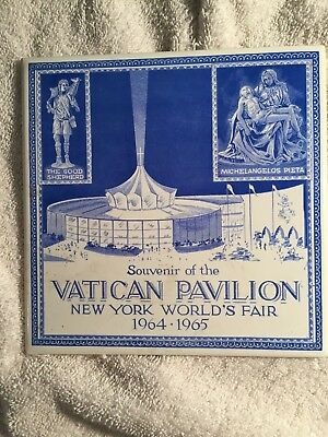 New York Worlds Fair Ceramic Tile Vatican Pavilion