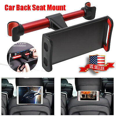 360° Universal Car Back Seat Headrest Mount Holder Stand fr Cell Phone Tablet PC