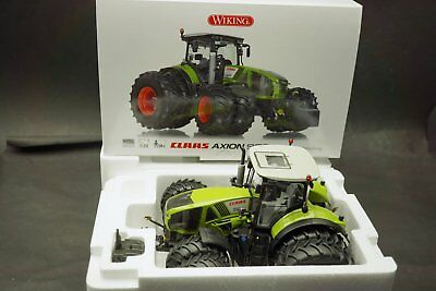 1:32..Wiking--077328 Claas Axion 950 mit Zwillingsbereifung in OVP  // 5 C 238