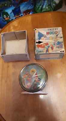 Vintage With Box1950s Smiths Noddy & Big Ears Alarm Clock FULLY WORKING