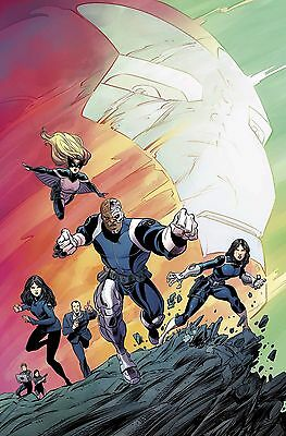 Agents of SHIELD #1 Regular 1/2016 Marvel Comics NM ABC Agent Coulson