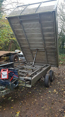 Tipping trailer for spares/repairs, One Penny Start Price, No Reserve