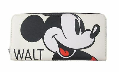 Loungefly x Disney Mickey Mouse Classic Print Zip-Around Wallet