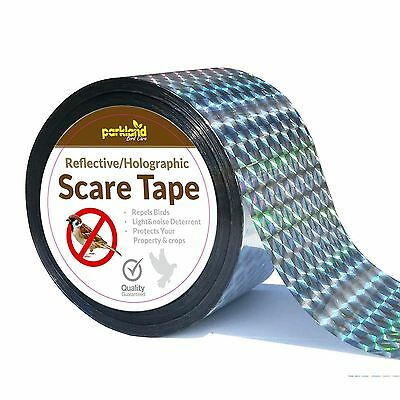 350ft Bird Repellent Scare Tape Simple Control Device To Keep Away Pets Pigeons
