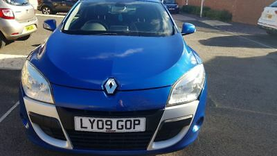 Renault Megane Coupe- 1.6 Petrol - 2009 - low mileage for age