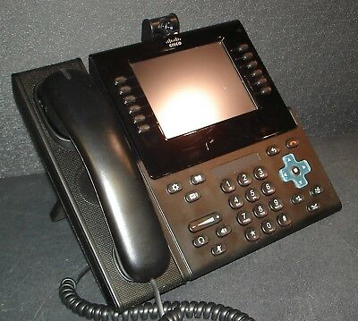 CISCO CP-9971 Endpoint VoIP Digital Phone Color Touchscreen