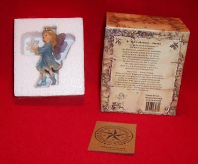 2001 Boyd's Flurry Frost Fairie Winter Dusting Wee Folkstones & Fairies