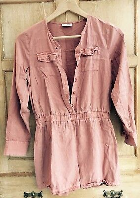 Next Girls Playsuit Copper Pink Size Age 12 Years 🌀