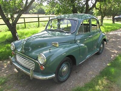 1965 Morris Minor 1000 4 door saloon (Dorothy)