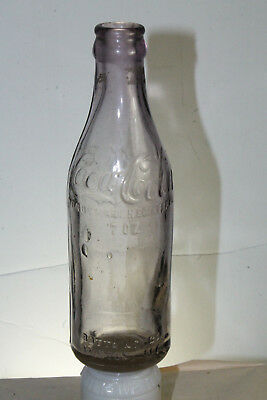 Bronson Fla Coca Cola Bottle Straight Side Clear