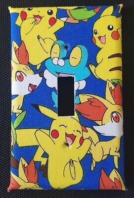 Pokemon Light Switch Cover And Outlet Plates, Fun & Cute! -Free Shipping