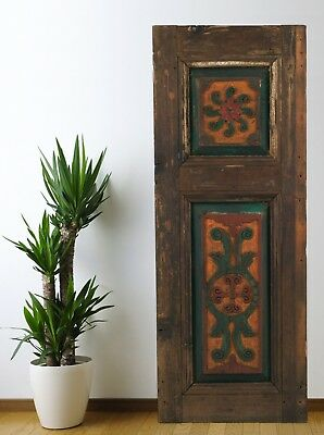 Vintage Cabinet Door Carved,Solid Wood Antique Panel Architectural (47'')
