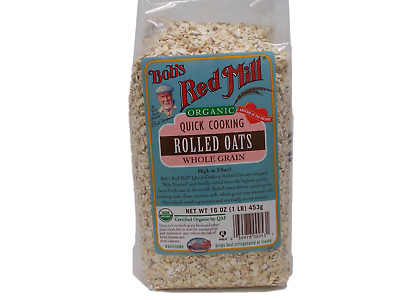 Bob's Red Mill Organic Quick Cooking Oats 16 oz.