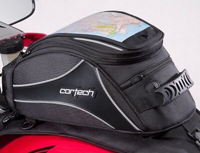 Cortech Super 2.0 12-Liter Magnetic Mount Motorcycle Tank Bag