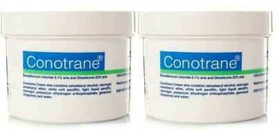 2 x Conotrane Antiseptic Soothing Cream 500g