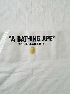 NEW 100% authentic BATHING APE plastic umbrella sleeve from JAPAN