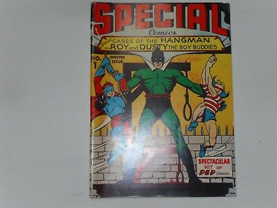 Special Comics Reprint Edition  #1     68 Pages    B & W  Good To Very Good