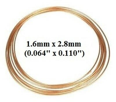 Copper Capillary tubing - 1.6mm ID X 2.8mm OD