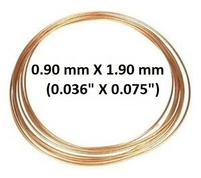 Copper Capillary tubing - 0.9mm ID X 1.9mm OD
