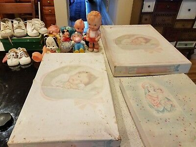 Vintage 50s Infant Baby Clothes and Toys