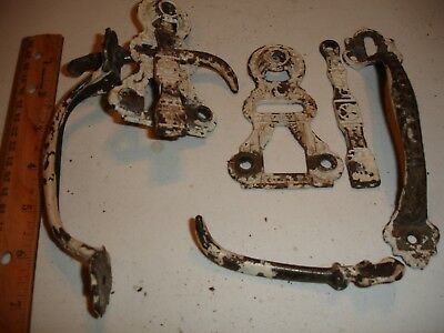 Antique Thumb Latch From Farm House