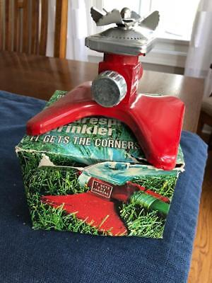 Vintage Metal Proen Square spray Sprinkler model 433 NOS New Old Stock Made USA