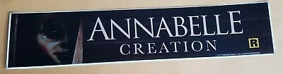 ANNABELLE CREATIONCREATION - 2018 - Movie Theater Mylar Banner - FREE SHIPPING