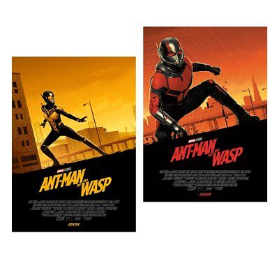 Ant-Man and The Wasp, Poster SET, NEW, Original Marvel exclusive Odeon.