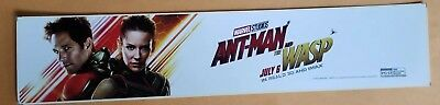 ANT-MAN AND THE WASP - Stan Lee - 2018 - Movie Theater Mylar - FREE SHIPPING