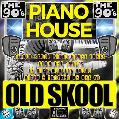 90's Piano House Old Skool Music Mix 2018 MIXED CD DJ HOUSE CLUB PIANO 1990's