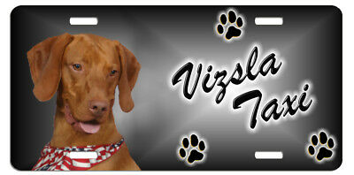Vizsla  2 Taxi Line License Plate (( LOW CLEARANCE PRICE ))