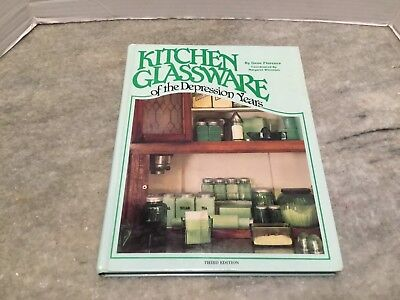 Book Kitchen Glassware Of The Depression Years 3rd Ed. By Gene Florence 223 Page