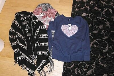 Gap, Charlotte Russe Girls Clothes Lot, Size 14-16 NEW Sweaters
