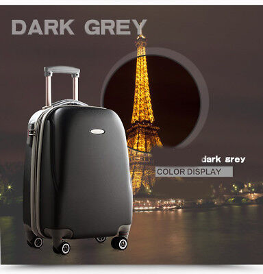 E13 Convenient Business Travel ABS Draw Bar Suitcase Luggage 24 Inches W