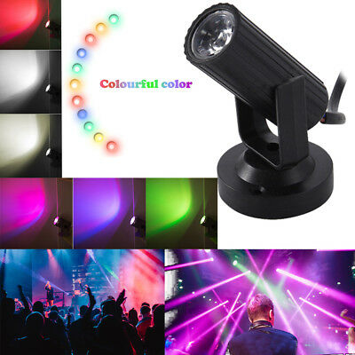 Mini LED Stage Lighting Spotlight DJ Disco Bar Xmas Party Lighting Effect Lamp K