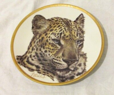 LENOX CHINESE LEOPARD Great Cats of the World Collection 1994 Plate LMT EDITION