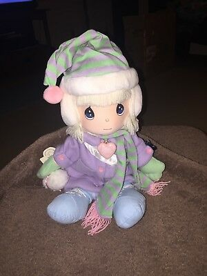 "Precious Moments~ Limited Edition~ ""EVIE"" ~Christmas Doll ~1993 Applause ~14"""