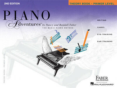 Faber Piano Adventures Primer Level Theory Book 2nd Edition 420169 NEW ! NICE !