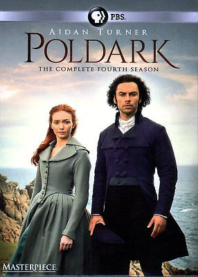 Poldark: Season 4 (3-disc DVD set) Region 1 for US players