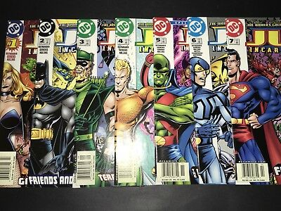 JLA: Incarnations #1-7 DC Comics Lot 2001