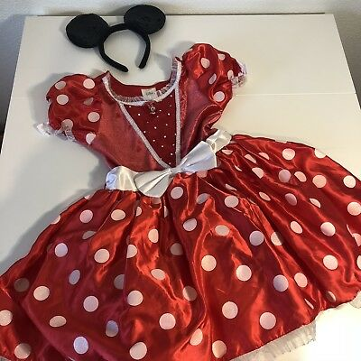 Disney Store size 10 Large Minnie Mouse Halloween costume dress