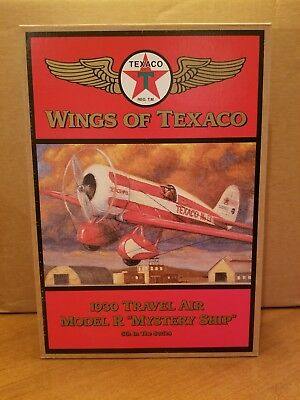 "Wings of Texaco 5th in the Series 1930 Travel Air Model ""R"" Mystery Ship"